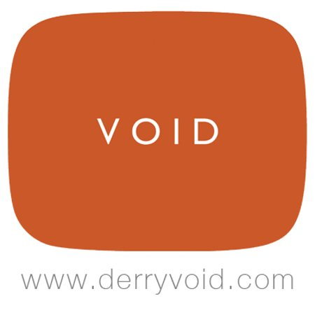 Void Gallery Logo City Shirt factory Derry