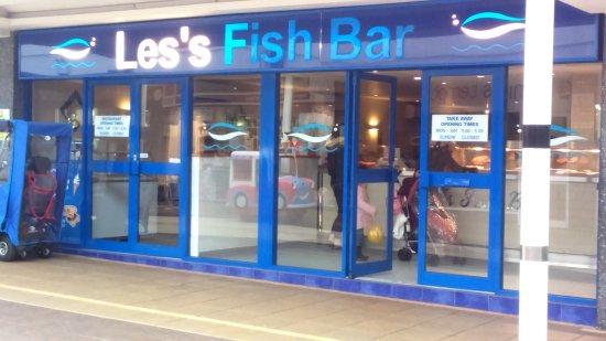 Winsford, UK: Les's Fish Bar