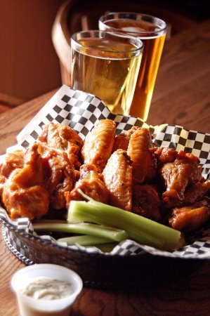 Coshocton, OH: Tons of beer choices and amazing wings!