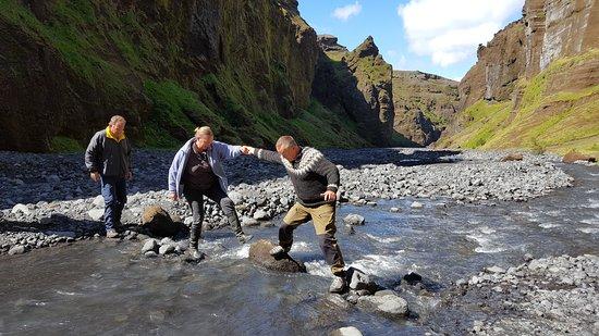 Kopavogur, Island: hiking with Logi