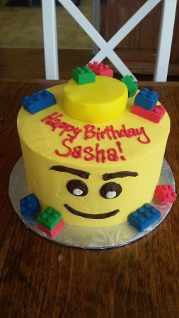 Oakville, Canada: Lego cake