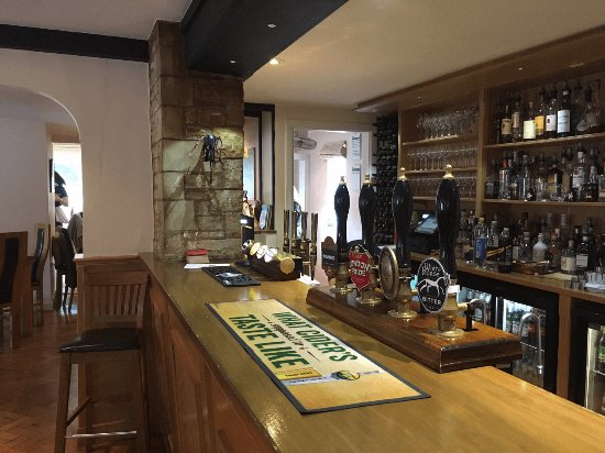 Wantage, UK: The well-stocked bar