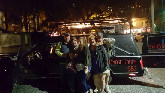 Hearse Ghost Tours: Our group