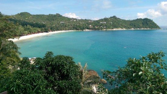 Panviman Resort - Koh Pha Ngan: Blick vom Hotel zum Strand