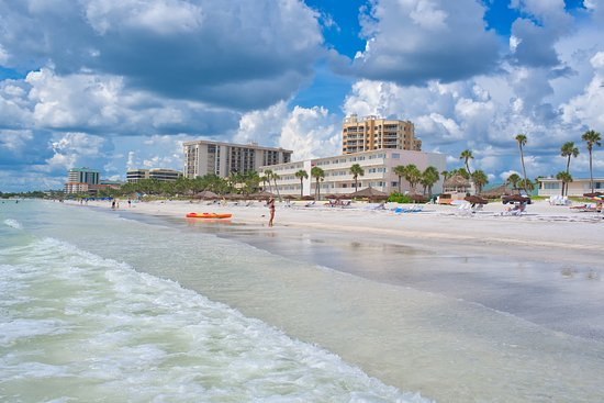 Sandcastle Resort At Lido Beach Blick Vom Strand Auf Das Hotel