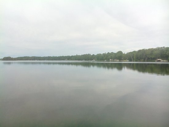 Allenford, Canadá: view from the deck