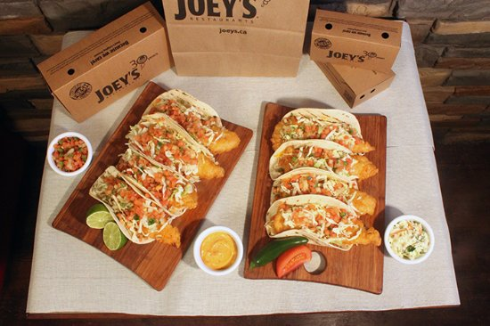 Joey S Seafood Restaurants Macleod Fish Taco Take Out Pack