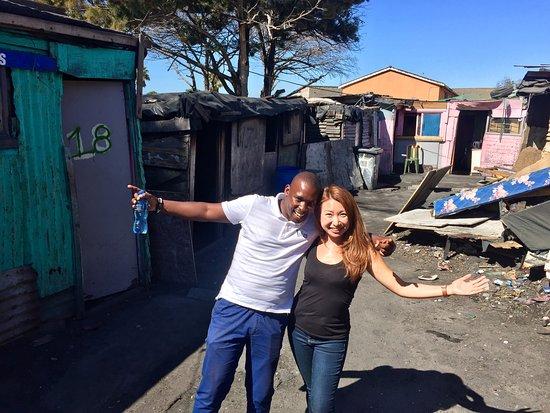 Khayelitsha, Sydafrika: With Mzu in Langa