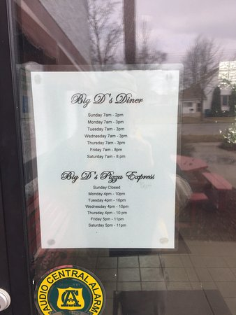 Bay City, MI: Big D's South End Diner & Pizza Express