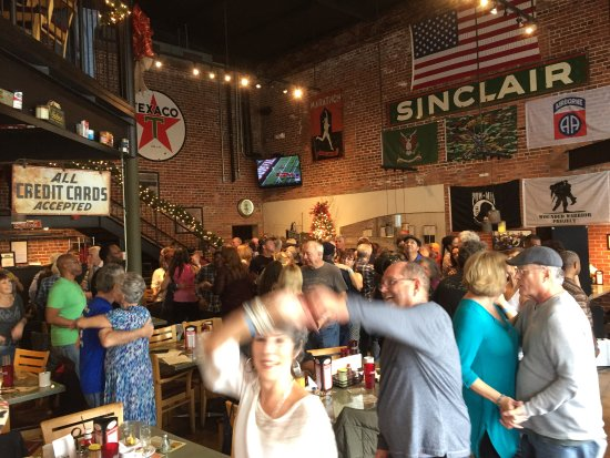 Buck and Johnny's : Dancers enjoying our Saturday Morning Zydeco Breakfast! Doors open at 8 AM; Band 8:30