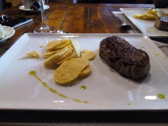 Aspe, Spanyol: Entrecôte Angus