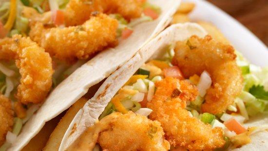 High River, Canada: Jalapeno Shrimp Tacos