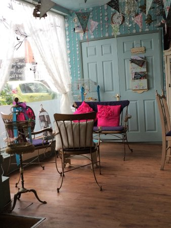 Alfreton, UK: Lovely spot for coffee and cake