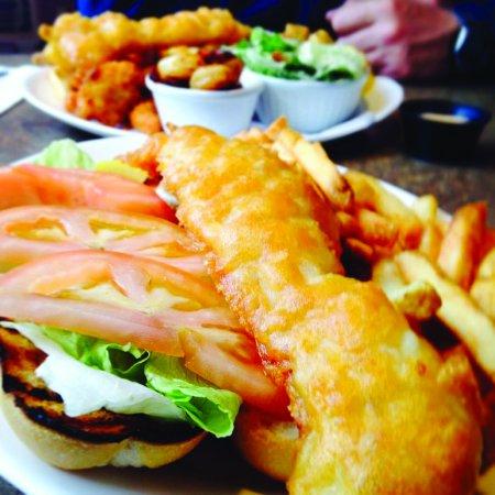 Castlegar, كندا: Fish Sandwich