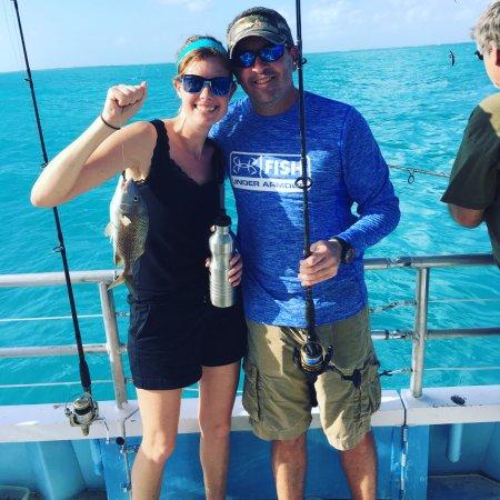 Team effort bild fr n sailors choice party fishing boat for Key largo party boat fishing