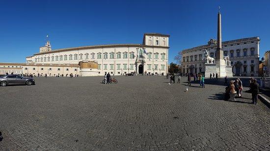 Piazza Del Quirinale Picture Of Quirinale Palace