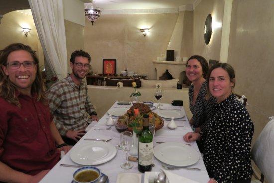 Riad Cherrata: Wow that dinner was insane!!!!!!!!!