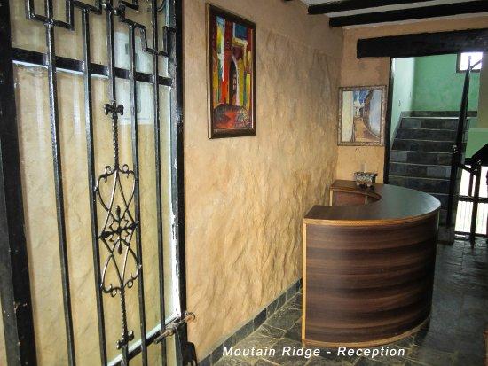 Bandipur, Nepal: Reception desk