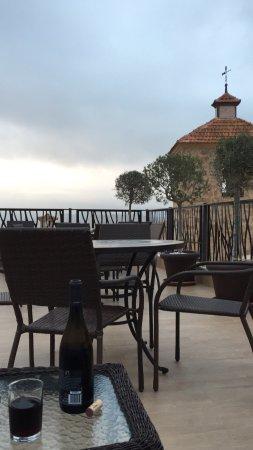 Busot, Spain: Roof terrace