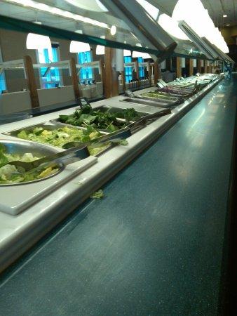 Torrance, Californie : Salad bar