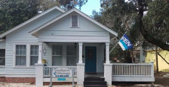 Southport, NC: Front of building