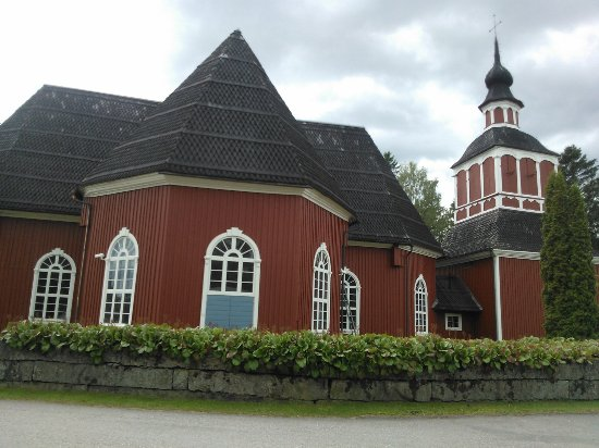 Virrat traditional wooden church.