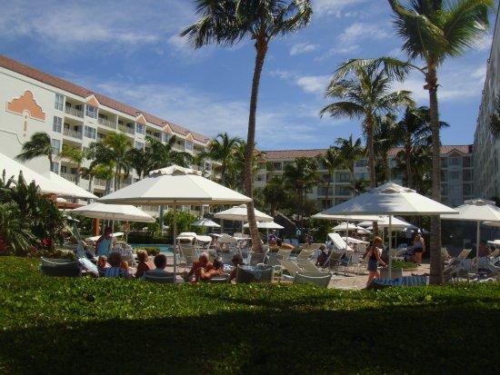 Marriott's Aruba Ocean Club: Wonderful pool area.