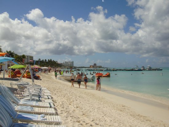 Marriott's Aruba Ocean Club: Beautiful beach.