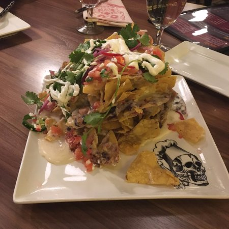 Ledyard, CT: Trash can nachos