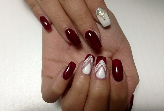 Beauty Mage Wellness Center Gel Nails With Swarovski Stones