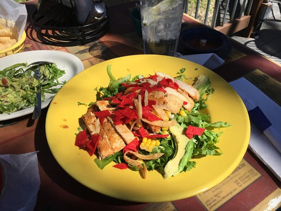 Kerrville, TX: Azteca salad
