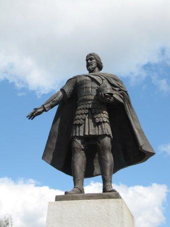 Serpukhov, Russia: Памятник Владимиру Храброму