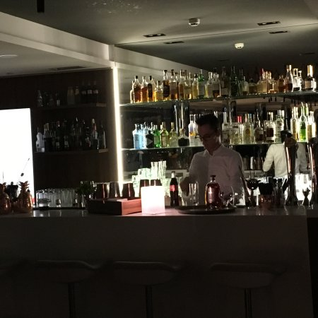La Defense, France: bar du 19eme etage