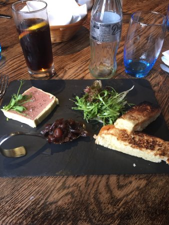 Brearton, UK: Chicken liver parfait