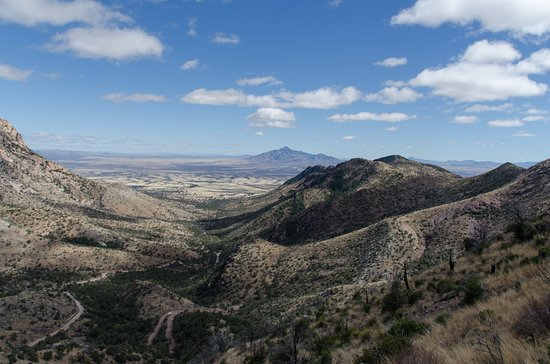 Hereford, AZ: View from Montezuma Pass looking Southeast
