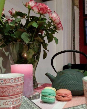 Lunel, France : Pause tea time