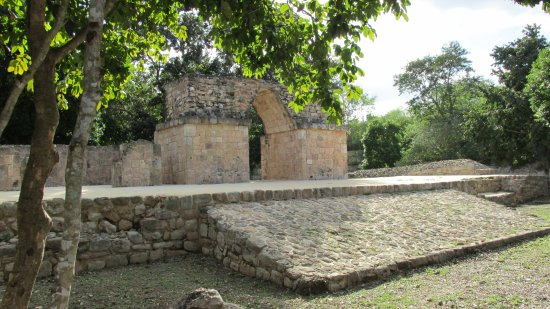 Maxcanu, Mexico: The classic arch