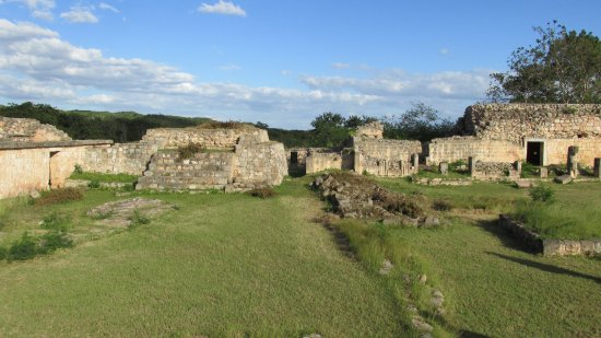 Maxcanu, Meksyk: Mayan 'town-houses'