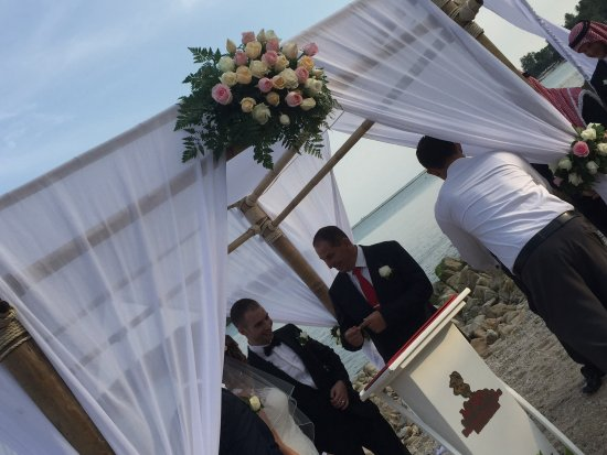 Nora Buri Resort & Spa: Wedding pavillion