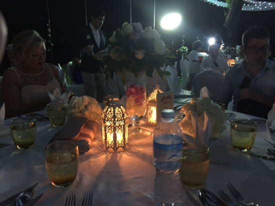 Nora Buri Resort & Spa: Dinner after wedding