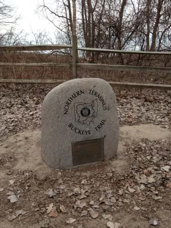 Mentor, OH: If you are hiking the northeast part of the Buckeye Trail, you'll start here!