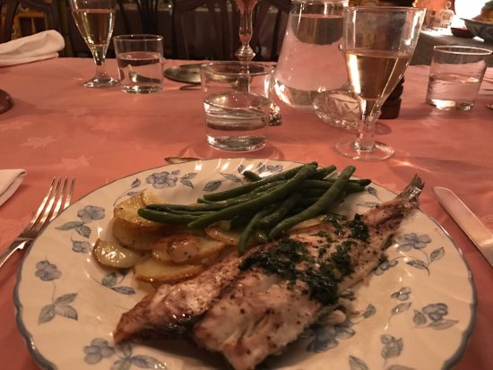 Finca Buen Vino: White fish that we cooked for dinner (cookery course)