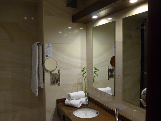 Hotel da Bolsa: Baño extremadamente limpio