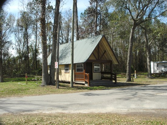 Golden Isles RV Park: One charming cabin for rent.