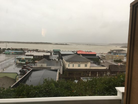 Bandon Inn: View from our window