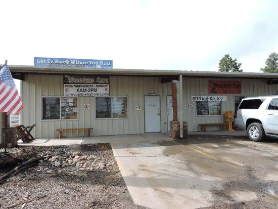 Overgaard, AZ: Woodshed Cafe