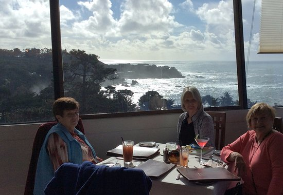 Hyatt Carmel Highlands: Our view from the restaurant at the Highlands