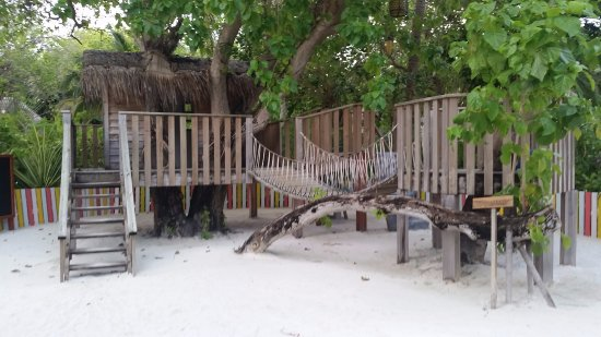 Anantara Dhigu MaldivesResort: aire de jeux kid's club