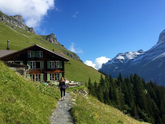 Stechelberg, Switzerland: Hotel vistas