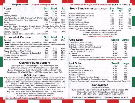 Catasauqua, PA: Menu 2